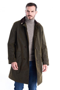 Barbour Hayden-Barbour ICONS-Re-Engineered-Mens Wax Jacket-Olive-MWX1556OL51