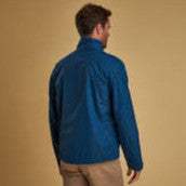 Barbour Rye Jacket-Peacock Blue-MWB0696BL55 back
