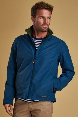 Barbour Rye Jacket-Peacock Blue-MWB0696BL55 style