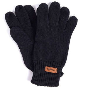 Barbour Scarf and Knitted Glove-Giftset-Grey/Black-LAC0192GY71 gloves