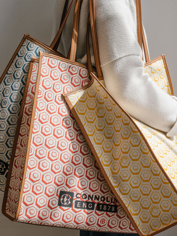 Connolly Hex Canvas Bags