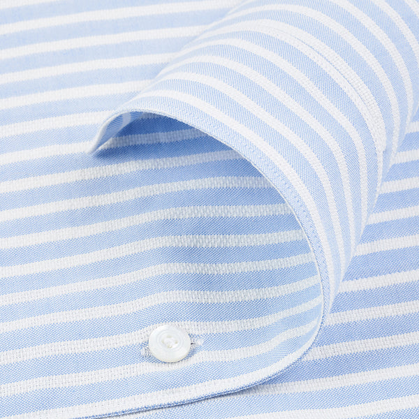 Blue and White Striped Connolly Shirt