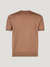 Connolly England | Gold Classic Cashmere & Silk T-Shirt