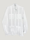 Connolly England | White Guayabera Shirt