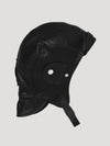 Connolly England | Black Leather Helmet