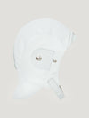 Connolly England | White Leather Helmet