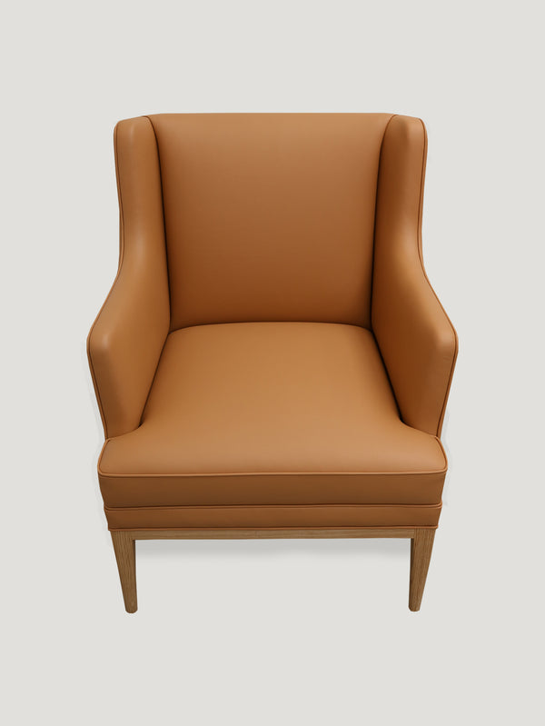 Connolly England | Tan Connolly Club Chair