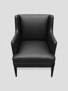 Connolly England | Black Connolly Club Chair