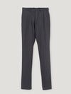 Connolly England | Black Flannel Stretch High Waist Trousers