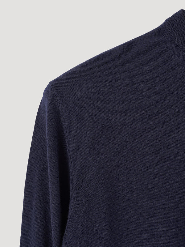Connolly England | Navy Classic Crew Neck