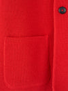 Connolly England | Red Wool Short Double Breasted Mac