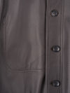 Connolly England | Brown Engine Deerskin Jacket
