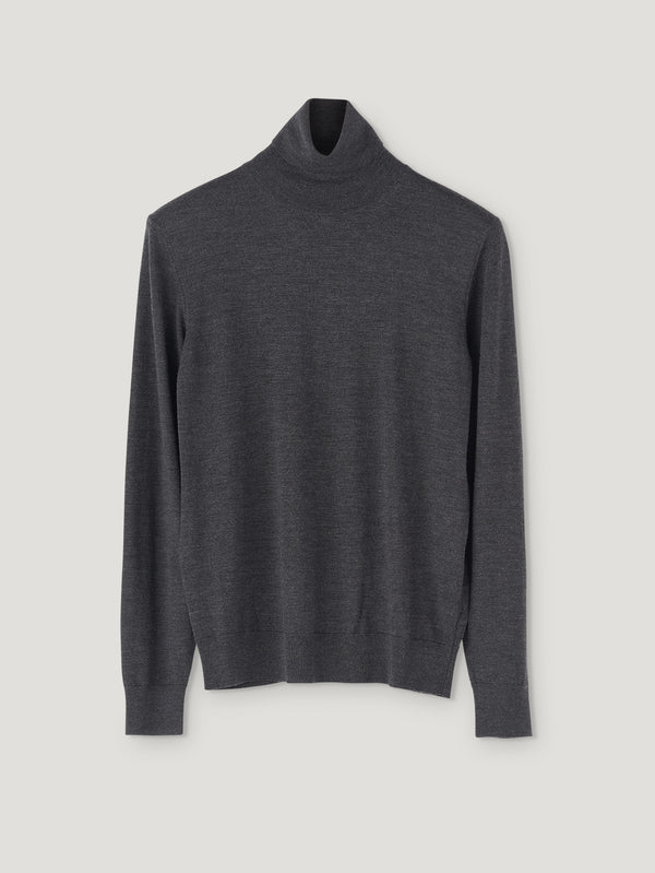 Connolly England | Charcoal Classic Roll Neck