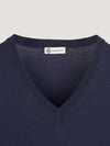 Connolly England | Navy Classic V-Neck