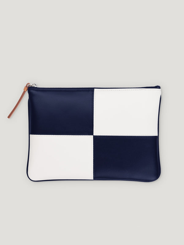 Blue and White Circuit Pouch 1902 - Connolly England