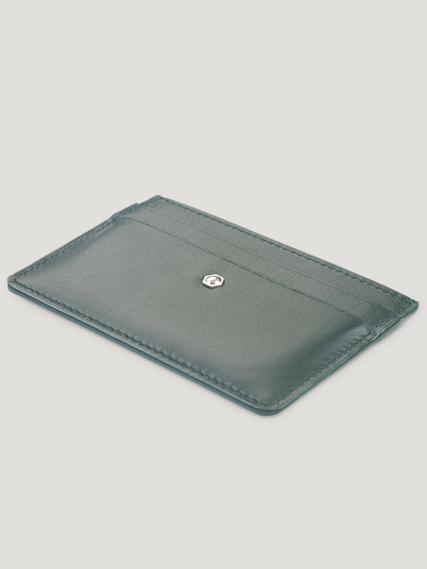 Connolly England | Dark Green Hex Credit Card Holder 1945
