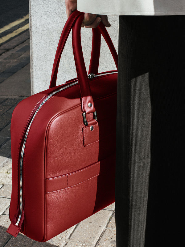 Connolly England | Red City Grip Bag 1920