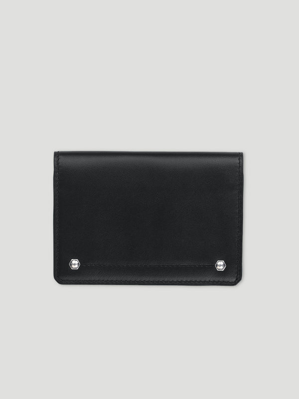 Connolly England | Black Hex Folded Credit Card Case 1904