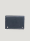 Connolly England | Navy Hex Folded Credit Card Case 1945
