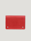Connolly England | Red Hex Folded Credit Card Case 1945