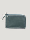 Connolly England | Dark Green Hex Half Medium Wallet 1945