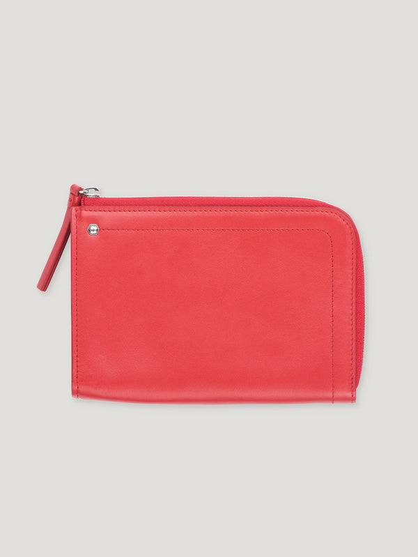 Connolly England | Red Hex Half Medium Wallet 1945