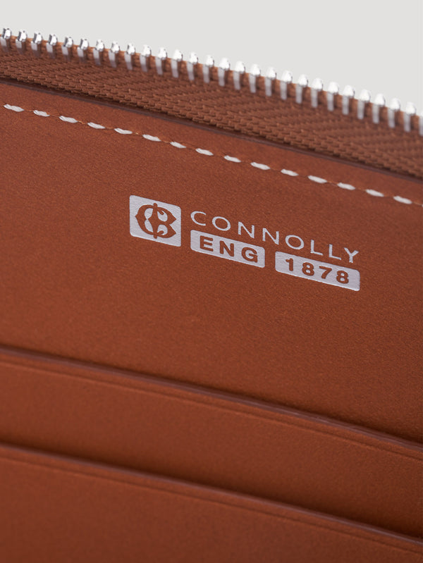 Connolly England | Tan Hex Half Medium Wallet 1904