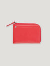 Connolly England | Red Hex Half Small Wallet
