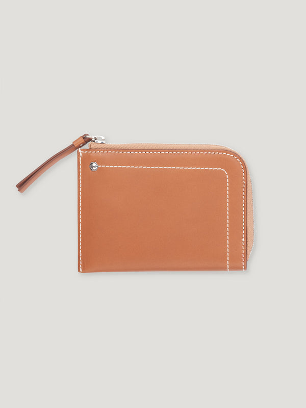 Connolly England | Tan Hex Half Small Wallet 1904