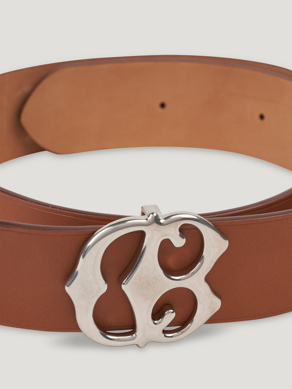 Connolly England | Tan Large CB Buckle Belt