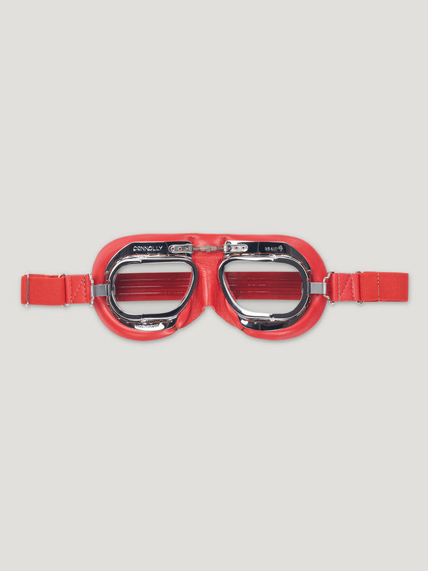 Red CB Driving Goggle - Connolly England