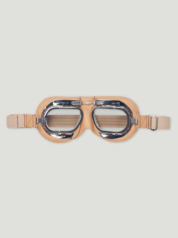 Tan CB Driving Goggles - Connolly England