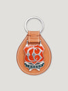 Connolly England | Tan Large Enamel Key Ring