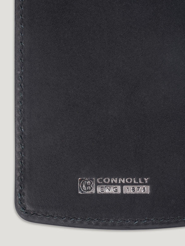 Connolly England | Black Rectangular Luggage Tag 1904
