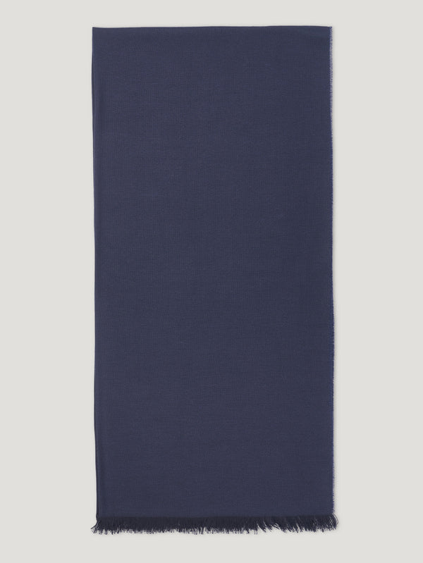 Connolly England | Midnight Blue Fetlar Scarf 100cm x 200cm