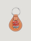 Connolly England | Tan Small Enamel Key Ring 1904