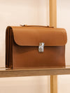 Connolly England | Tan Slim Briefcase 1904