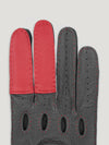 Connolly England | Black and Red Road Rage Gloves