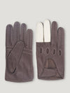 Connolly England | Brown and White Road Rage Gloves