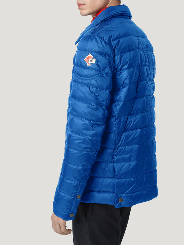Connolly England | Blue Quilted Down Jacket