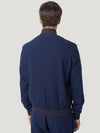 Navy Cashmere Lightweight Blouson - Connolly England