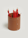 Tan Large Pen Pot - Connolly England