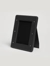 Connolly England | Black Leather Large Photo Frame