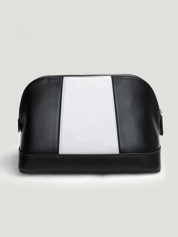 Black/White Small Stripe Washbag 1945