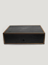 Black Shagreen Bridge Set Box