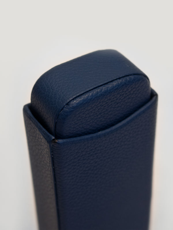 Blue Robusto Cigar Case
