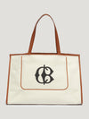 CB Canvas Beach Bag