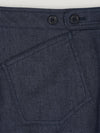 Dark Blue Denim Mariner with Turn Up Trousers