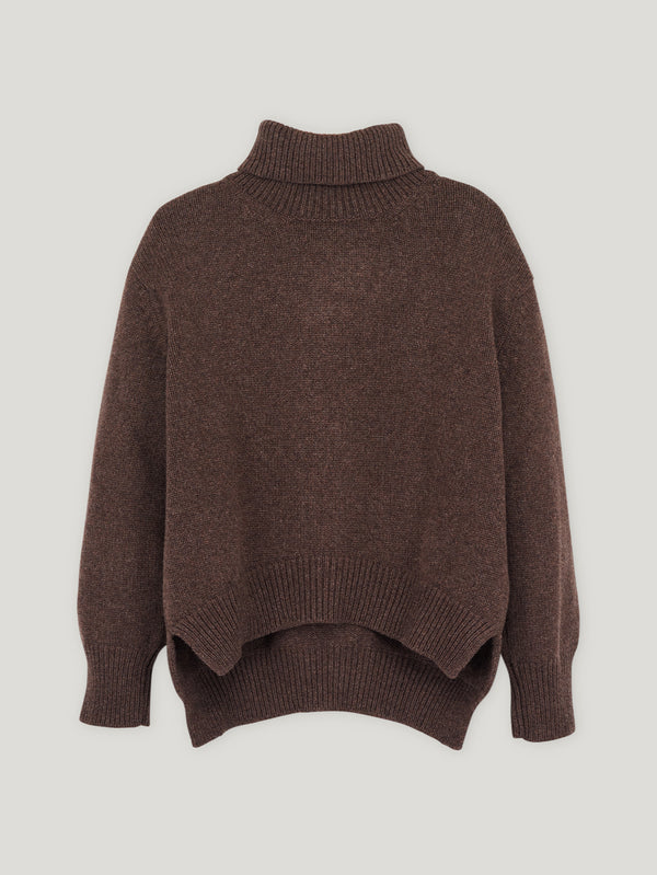 Dark Brown CB Sweater