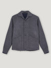 Grey Wool Giubbino Jacket